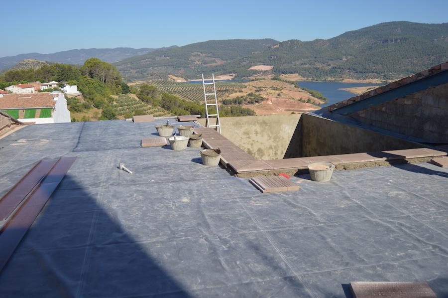 Impermeabilización Terraza en Siles