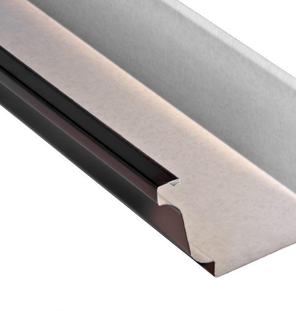 Canal n aluminio cornisa 380 canalones sierra de segura for Canalon de aluminio